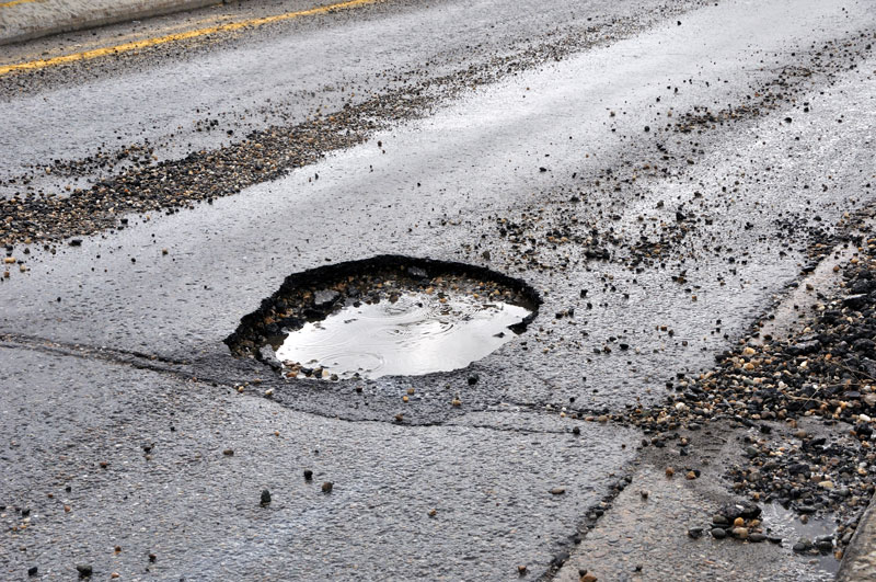 What are Potholes Caused By?